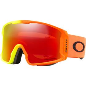 Oakley Line Miner Gogle pomarańczowy/czerwony